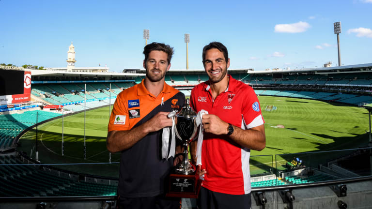 The Giants-Swans relationship is as close as it's ever been. Until the first bounce.