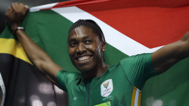 South Africa's Caster Semenya has hyperandrogenism, which results in naturally occurring high levels of testosterone in women.