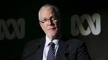ABC chairman Justin Milne
