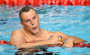 China bound? Kyle Chalmers is one Australian who is considering swimming in the Champions Swim Series.