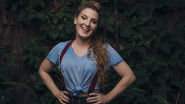 Alice Fraser swapped corporate life for comedy.