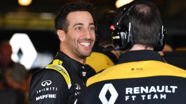 Seven year window? Daniel Ricciardo on his world championship hopes.