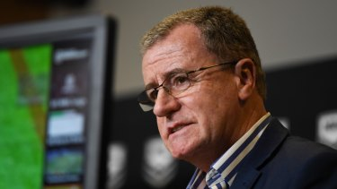 Graham Annesley says the NRL is open to rule changes.