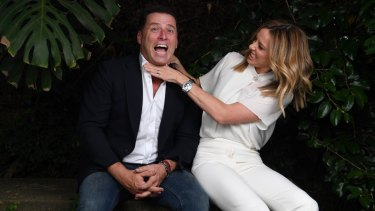 Karl Stefanovic encouraged Allison  Langdon to move from a producer's role to reporting.