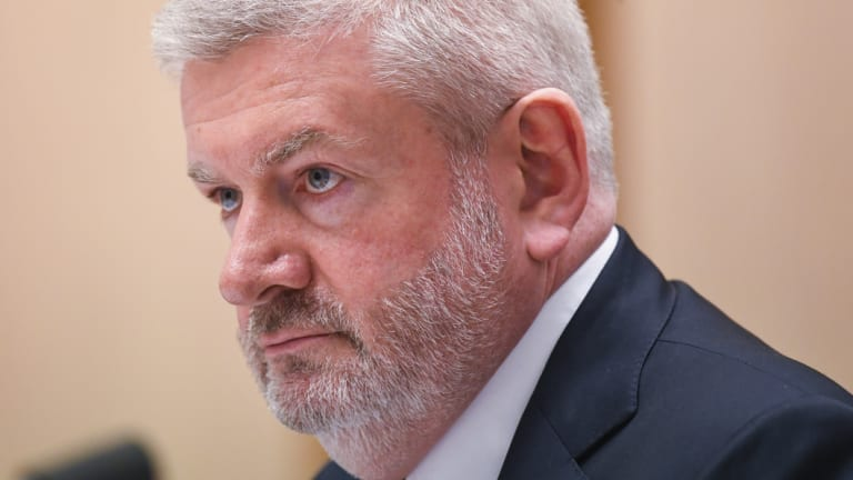 Communications Minister Mitch Fifield says auDA needs to change its ways.