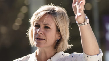 Zali Steggall says Abbott is not taking responsibility for his own actions.