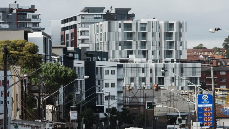 Many people are choosing to live in apartments.