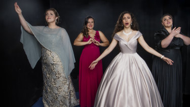 Eight finalists of the Sydney Opera Eisteddfod are women.