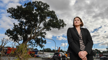 Manningham mayor Paula Picinini wants the gum tree to be preserved.