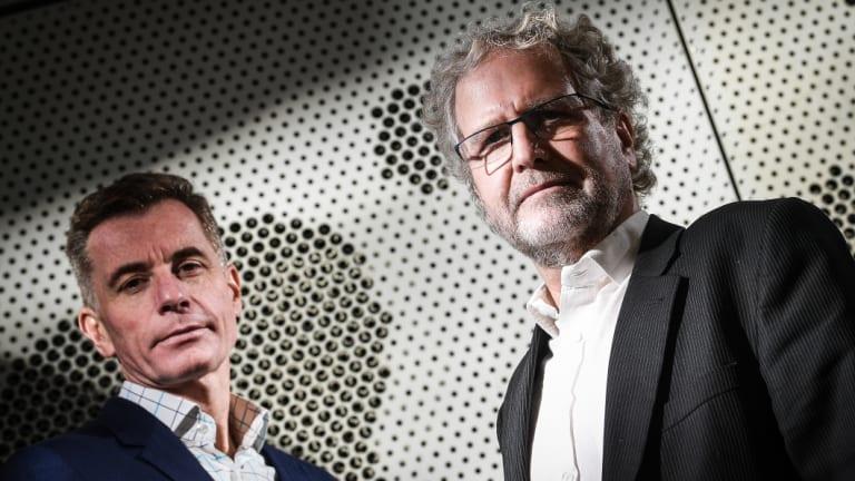 Professor Tim Stinear and Professor Paul Johnson.