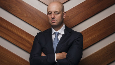 """Angry and frustrated"": NRL CEO Todd Greenberg."