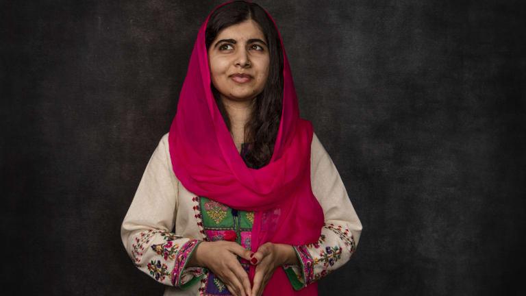 Malala Yousafzai in Sydney.