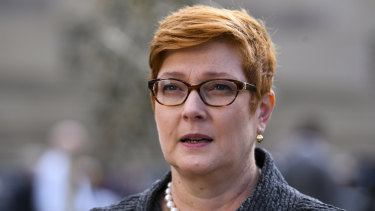 Foreign Minister Marise Payne expressed deep concern for Mr Khashoggi.