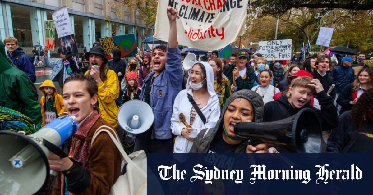 School climate strikes resume around Australia with more to come – Sydney Morning Herald