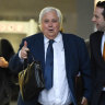 Clive Palmer's lawyer casts doubt on future of Queensland Nickel trial