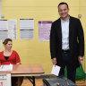 Exit poll shows three-way tie in Irish election