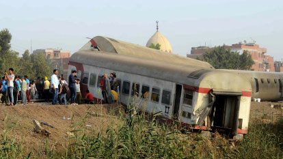 Scores injured, 11 killed in Egypt train crash