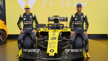 Ricciardo's Renault team applies for government job retention scheme