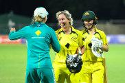 Beth Mooney's century enabled Australia to continue its winning streak.