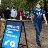 Healthcare workers support COVID-19 testing as flu season looms