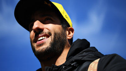 Champagne on the podium is Ricciardo's main aim for 2020
