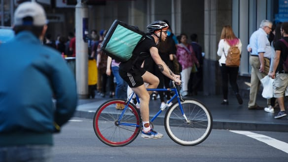 New Deliveroo contract shifts liability for undelivered food to riders