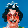 Man of many faces: Barry Humphries, the Archibald Prize's most painted celebrity finalist