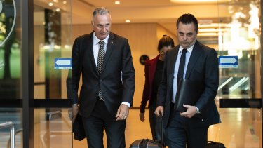 Drummoyne MP John Sidoti has moved to the crossbench while the ICAC investigation is under way.