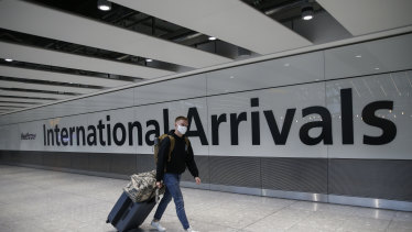 Australians are welcome to fly back into the the UK despite the fresh lockdown.