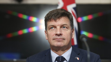 Energy Minister Angus Taylor is working with state governments to build high voltage transmission lines, which will link new renewable zones and hydroelectric dams which are being built across the country.