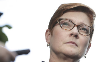 "Foreign Affairs Minister Marise Payne said the release of an Australian couple after months in jail ""is a source of great relief and joy for everyone""."