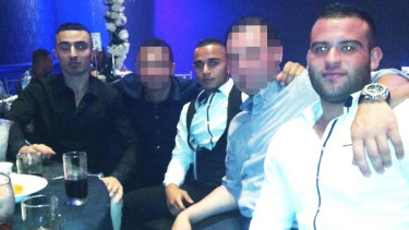 """Bilal Alameddine, centre, will not be released from prison after being deemed a """"terrorism related offender""""."""