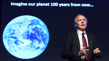 Chief Scientist Alan Finkel presented the strategy.