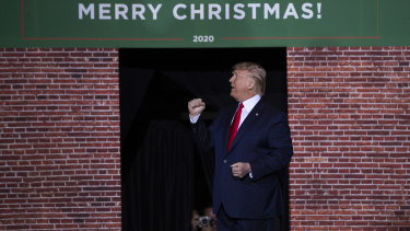 The Merry Christmas rally in Michigan provided an opportunity for Trump to vent and try to convince swinging voters.