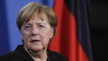 A 'good' deal: German Chancellor Angela Merkel.