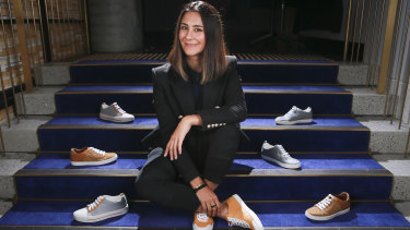 Shoes of Prey co-founder Jodie Fox.