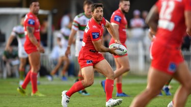 Dragons' stand-in skipper Ben Hunt made positive use of the new captain's call during the Charity Shield.