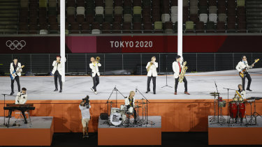 The Tokyo Ska Paradise Orchestra.