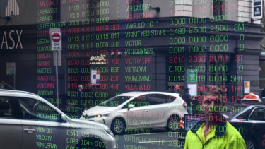 The ASX ended the session flat on Monday as half-year results continued to flow.
