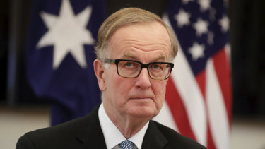 US Ambassador to Australia Arthur B Culvahouse Jr says China needs to come clean about the coronavirus.