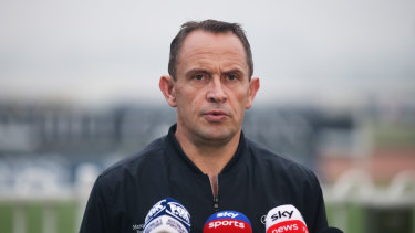 Chris Waller is eyeing a unqiue treble if he can win the Golden Eagle with either Arcadia Queen or Kolding.