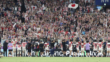 Surging Japanese interest in rugby has the country high on the list of SANZAAR priorities.
