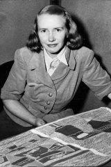 Catherine Berndt in 1952.