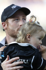 New Zealand's Martin Guptill reflects after the extraordinary ending.