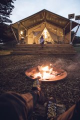 The Sheltered Glamping Co. on Phillip Island.