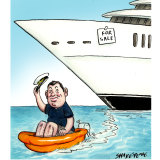 James Packer has set a price for his superyacht.