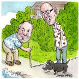 Colin Sullivan and Geoff Ainsworth. Illustration: John Shakespeare