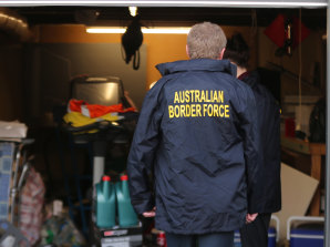 NSW Police, Australian Border Force and US Homeland Security began an investigation after receiving information about the alleged importation of firearm parts and drug manufacturing equipment into Australia.