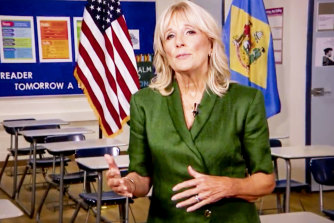 Jill Biden says her husband's experience recovering from personal tragedy would help him lead the nation through the pandemic and the mass unemploymentit has caused.