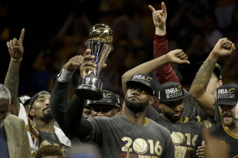LeBron James turned in a series of performances that will be talked about for generations to deny the record-breaking Warriors the biggest prize of all.